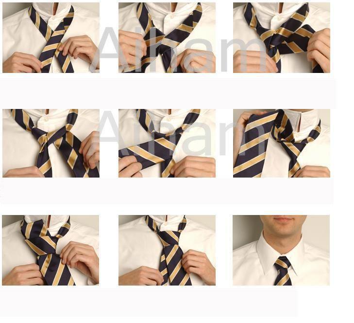 صوره كيفية عمل ربطة العنق