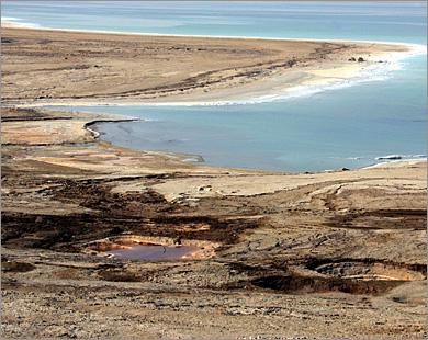 صوره بحث حول البحر الميت في الاردن بحر فريد من نوعه يسمى البحر الميت