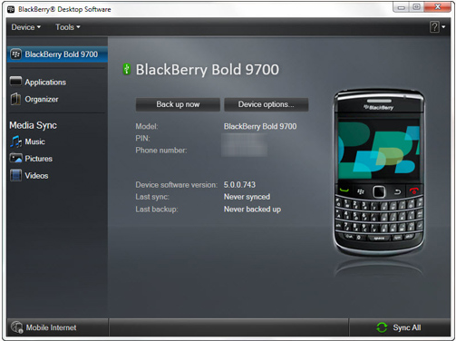 صور طريقة تحديث بلاك بيري 9700