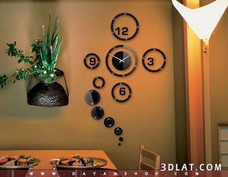 صوره صور لساعات حائط باشكال مختلفة