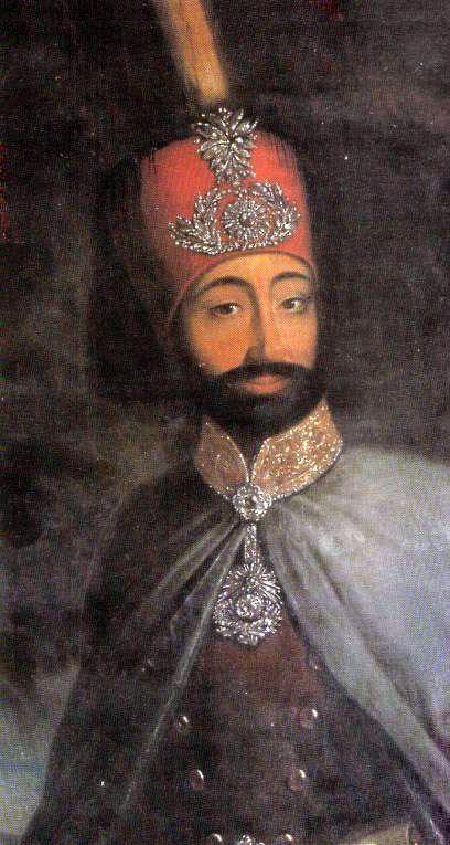 صوره السلطان محمود خان الثاني