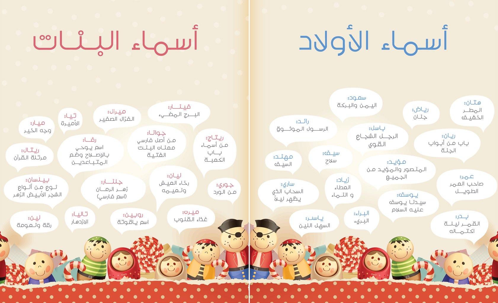 صوره موسوعة الاسماء العربية
