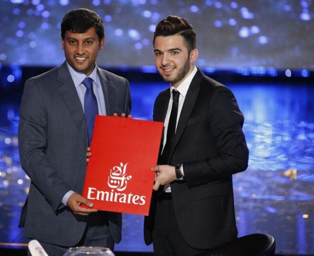 بالصور لحظة فوز حازم شريف الموسم الثالث من Arab Idol ccdae12154fba7d71e3139e57502069b