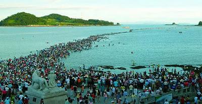 بالصور معجزة النبي موسى في كوريا cd5728a60fc787ce2f20d5fadfc78315