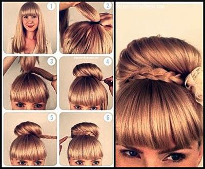 صورة موديلات تساريح شعر جديدة , واو اخر صيحات الموضة في قصات الشعر