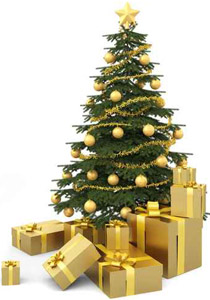 صوره صور اشجار عيد الميلاد