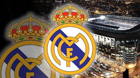 صوره صور ريال مدريد شعار لكره القدم
