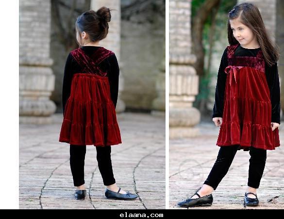 بالصور الفساتين الشتوية للاطفال 2019 e6c3190c9de3855cf5657a3319e3f98c