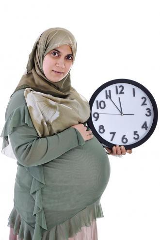 صوره وجع اسفل البطن في الشهر الثامن تقلصات من الحمل