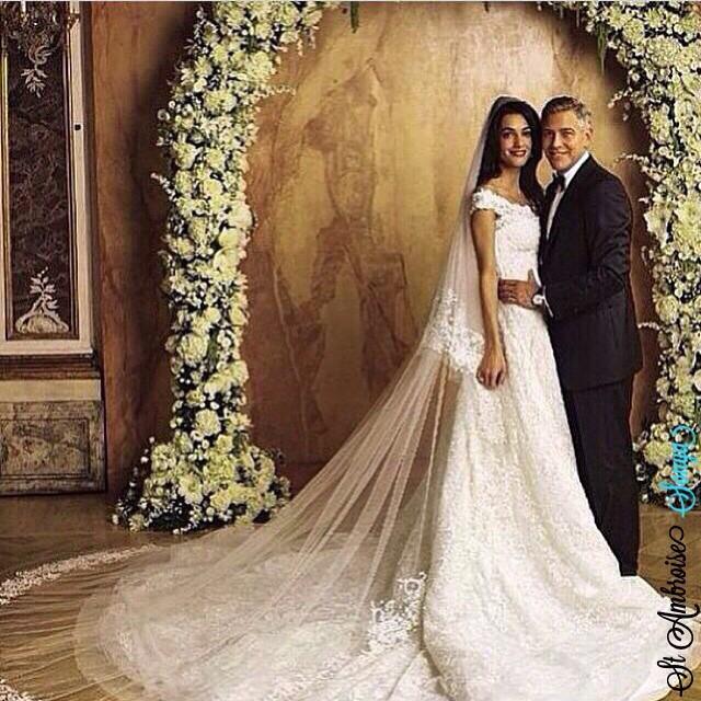 صور زفاف الفنان جورج كلوني