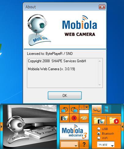صوره تشغيل كاميرا الموبايل على الكمبيوتر