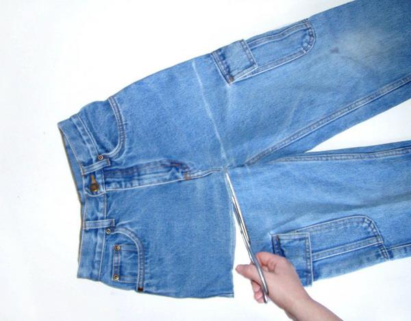 صوره طريقة عمل شنط جينز