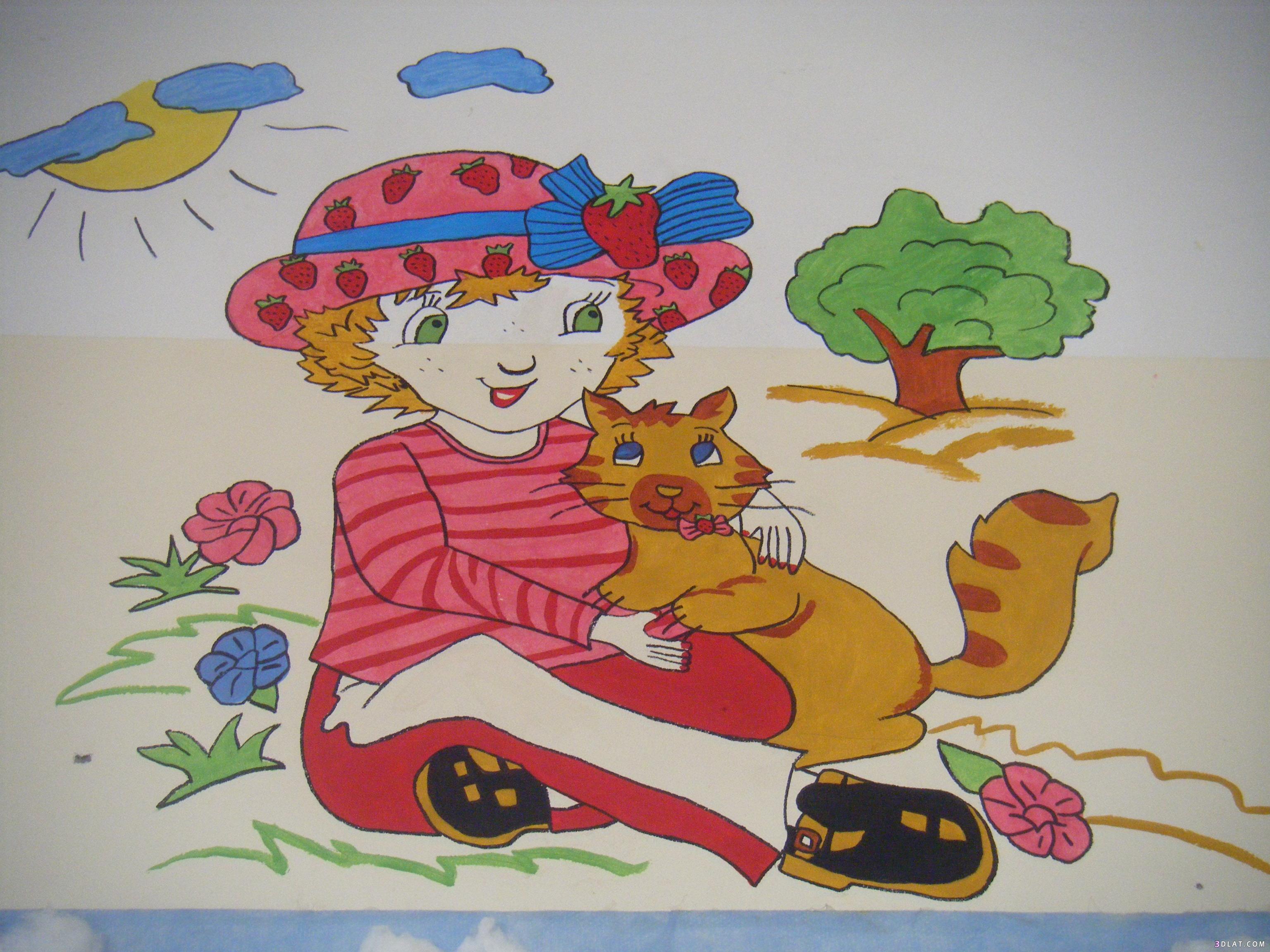 صور رسومات تعليمية لاطفال الروضة