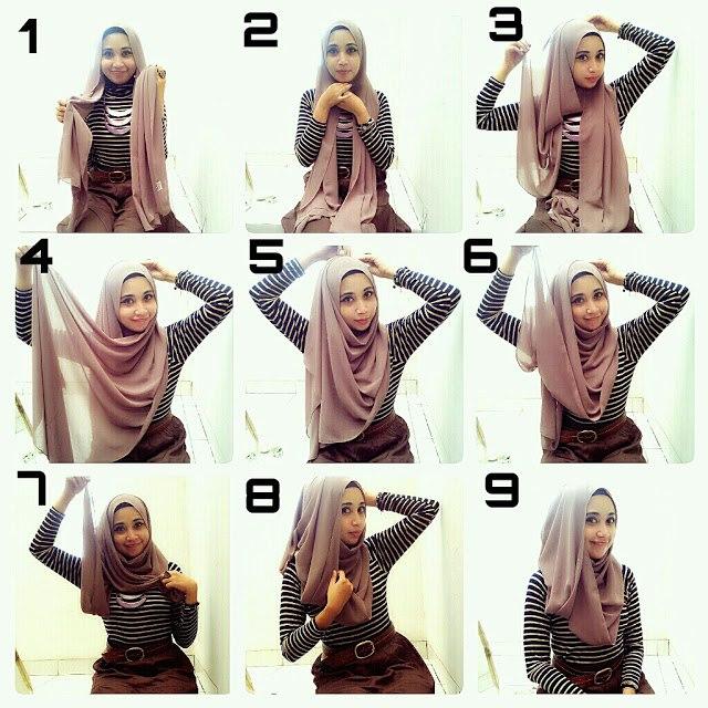بالصور طرق لبس الحجاب f6838b0e3c8c175452c3c6b204874854