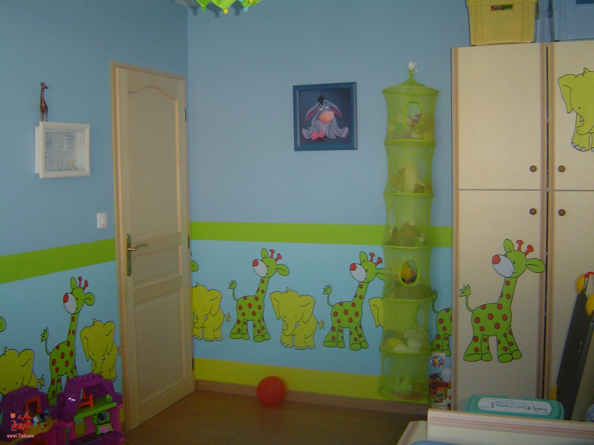 صورة رسومات حوائط غرف اطفال