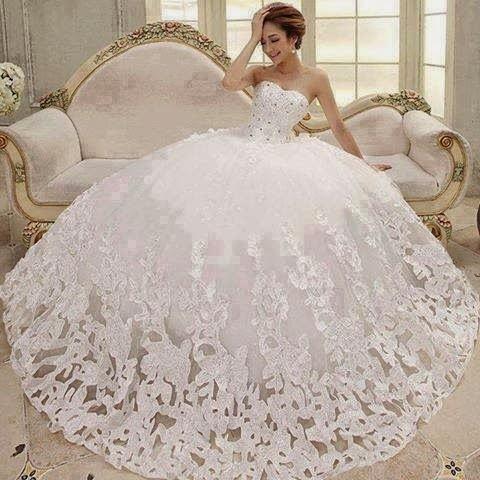 بالصور احدث صور لفساتين زفاف 2019 fd7050b64839d81a0a0a45384519ed2b