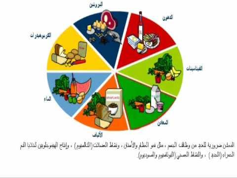 صور نشرة عن الغذاء الصحي للاطفال