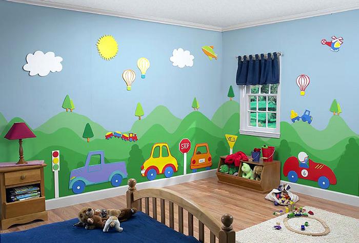 صوره الوان غرف اطفال بتصاميم رائعة