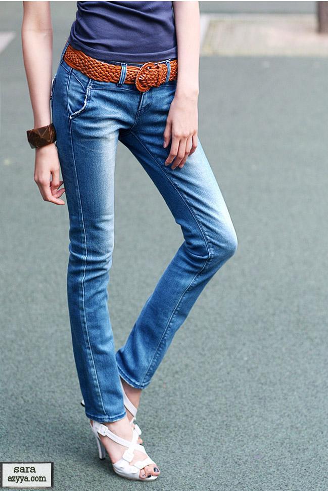 بالصور جينزات تهبل جينزات انيقه من ماركات عالميه 19e40b65296d4db2c71025463560b23c