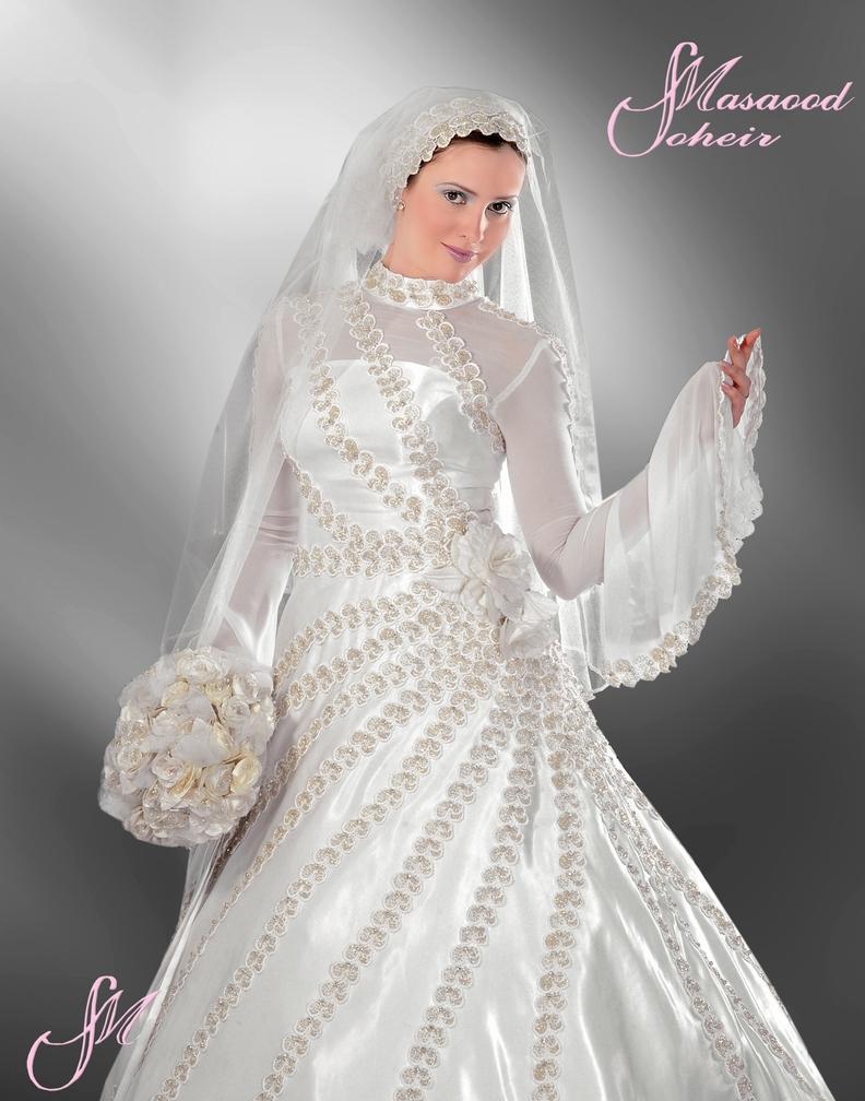 بالصور فساتين زفاف 2019 للمحجبات a9437f8e2090dae5df129474a384b502