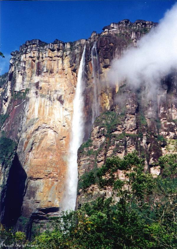 اطول شلال بالعالم , صور اطول شلال في العالم , مشاهدة روعة و جمال اطول شلال في العالم