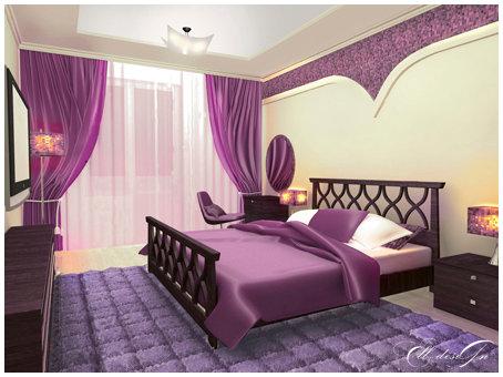 بالصور دهانات غرف النوم باللون الموف e01b8a3a7c3400e7b0b6218c8faded74
