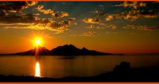 صور غروب الشمس بالصور روعه