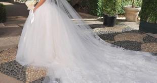 صوره احدث موديلات فستان للزواج 2018
