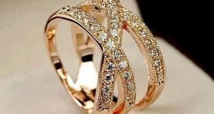 صورة اخر صيحات خواتم الزواج الذهبية لعام 2020