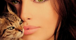صوره اجمل صور فتيات وقطط