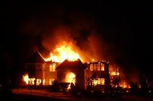 صوره تفسير رؤيا حلم حريق البيت