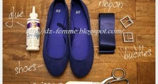 بالصور حل مشكلة الحذاء الضيق diy puritain flats 1 310x165