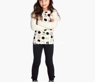 بالصور صور ملابس اطفال شتوي 2019 girl clothes with flower 3 384x330