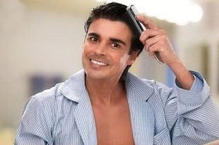 صوره كيفية تصفيف الشعر المجعد للرجال