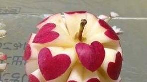 صور صور الرسم على التفاح جديدة