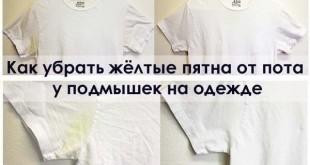 بالصور كيف ازيل البقع الصفراء من الملابس البيضاء التخلص من البقع الصفراء 310x165