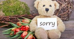 بالصور رسائل اعتذار قصيرة مكتوبه تعبير رسالة اعتذار قصيره 310x165