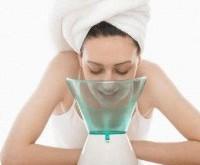 صور افضل طريقة تنظيف الوجه بالبخار