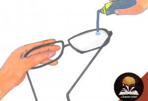 صوره افضل طريقة لتنظيف النظارات الطبية