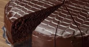 صور طريقة عمل كيكة شوكولاته