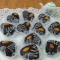 قلوب-الشوكولاطة-بالكريمة