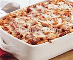 صوره طريقة عمل مكرونة البيتزا بالدجاج