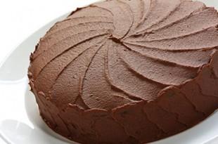 صوره طريقة عمل الكيكه بالشكولاته  فى المنزل فى وقت قصير