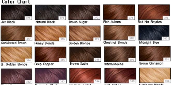 صورة انواع صبغات الشعر من غارنييه
