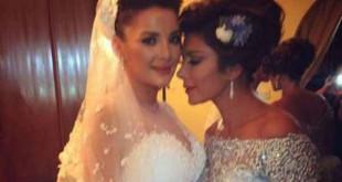 صور فرح ابنة اصالة بحفل زفاف ابنتها شام الذهبي
