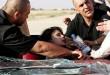 صور حادث هيفاء وهبي الطائرة  بسيارتها كاد يودي بحياتها