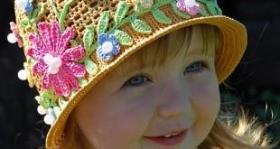 صور اعمال كروشيه قبعات