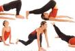 صور حركات رياضية لازالة البطن