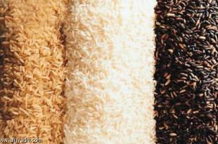 صوره انواع ارز بسمتي وشكل حباته