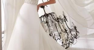 صوره اجمل فساتين زفاف ربيع 2018